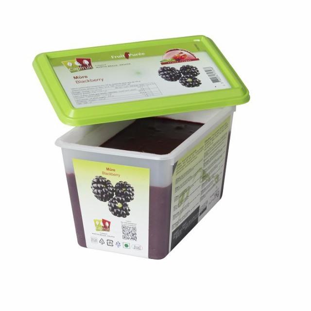 冷凍 ミュール(ブラックベリー)ピューレ 1kg 100% 加糖 メーカー変更
