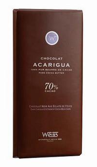 タブレット カカオ豆入り カカオ70% フランス産チョコレート
