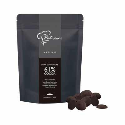 最高級チョコレート アルティザン クーベルチュール ダーク カカオ61% 2.5kg シンガポール産