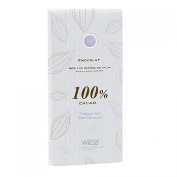 タブレット カカオ100% 甘くない! 板チョコレート フランス産