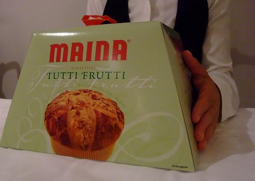 イタリア産 MAINA社のイル・トゥッティー・フルッティー(パネトーネ) 1kg 賞味期限2021.06.30