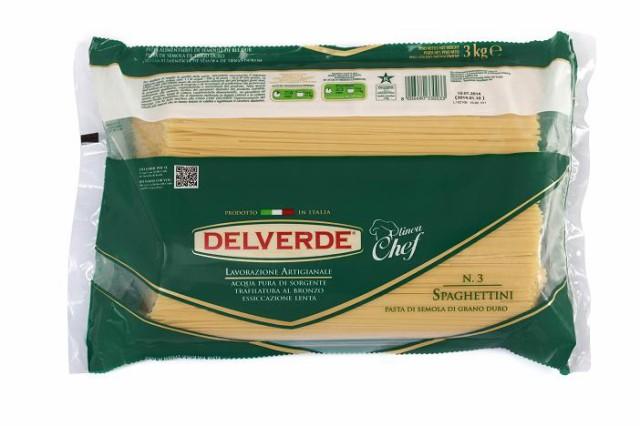 イタリア産 最高級デルヴェルデ(Delverde)N.3 スパゲティーニ  太さ約1.6mm 3000g 3kg  業務用