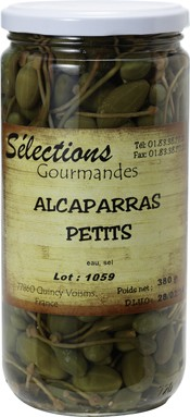 フランス産 ケッパー・ベリー(実)の酢漬け 720g 枝つき アルカパラス