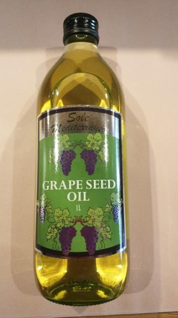 イタリア産ブドウの種油 グレープシードオイル 1L 12本セット