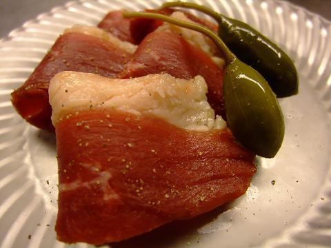 冷凍チェリバレーカナール(鴨ロース肉)のプロシュート 生ハム 約200g〜250g