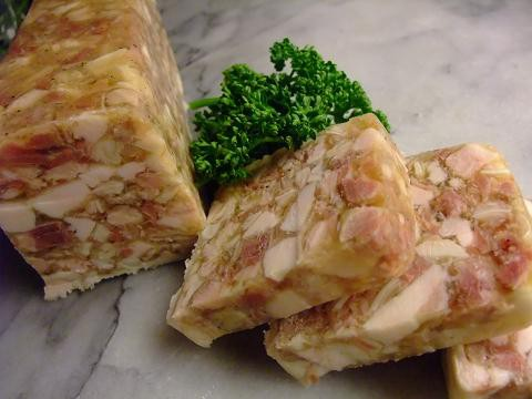 パテ・ド・テット(1kgサイズ)豚の頭のパテ フェルメット商品