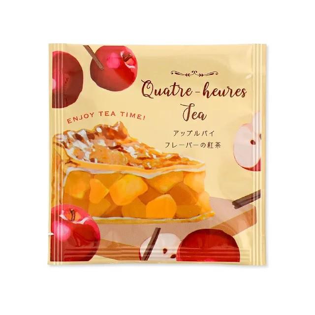 【メール便可】キャトルールティー アップルパイ 甘いスイーツの香りがするフレーバーティー