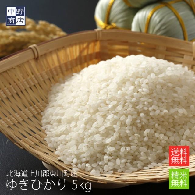 無農薬 米 玄米 北海道産 ゆきひかり 5kg 特別栽培米(節減対象農薬 栽培期間中不使用 化学肥料(窒素肥料)栽培期間中不使用
