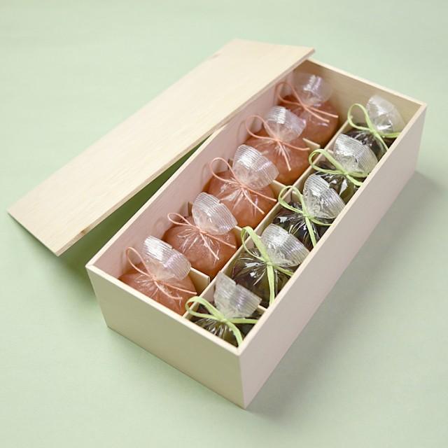 送料無料 母の日 ギフト 涼菓 せせらぎ5個・恋桜(こいざくら)5個 木箱入り 鶴屋光信 京都 和菓子 お中元 ギフト