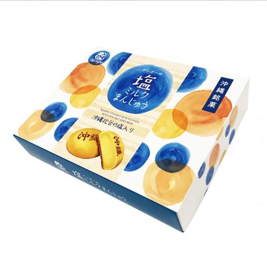 ナンポーの塩ミルクまんじゅう 6個入り ×3箱