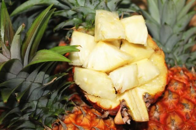 沖縄県産ピーチパイン 1.5kg(2〜4個)【送料無料】