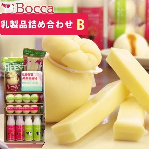 牧家 乳製品詰合せB 7種 9点セット(Bocca) (お歳暮のし対応可)