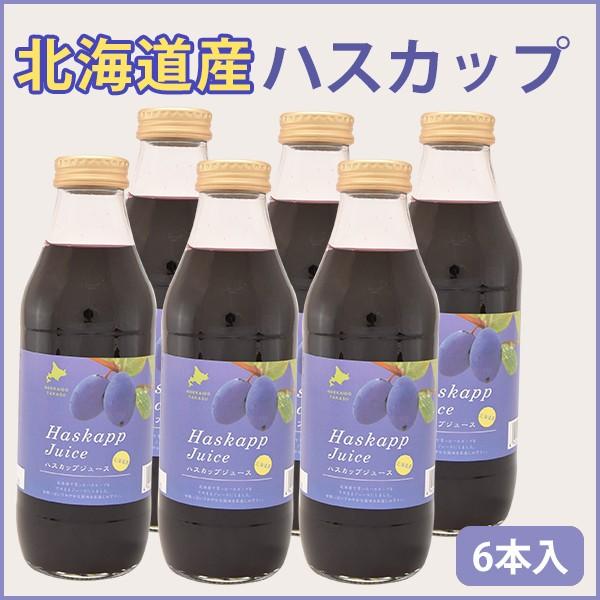 北海道産 ハスカップジュース 500ml 6本