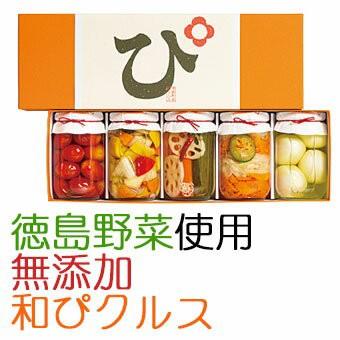 国産・無添加 素材を極めた和ピクルス「徳島ぴクルス」5種セット エイブルフーズ (お歳暮のし対応可)