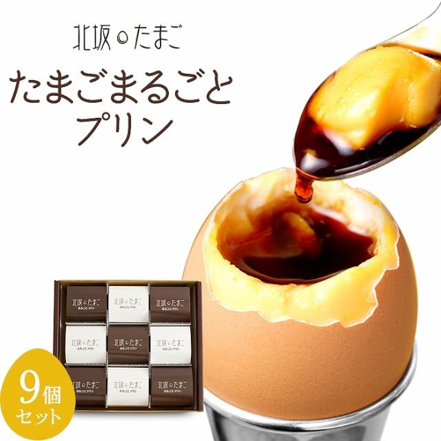 たまごまるごとプリン 9個セット(北坂養鶏場)(無添加)(卵100%のプリン)
