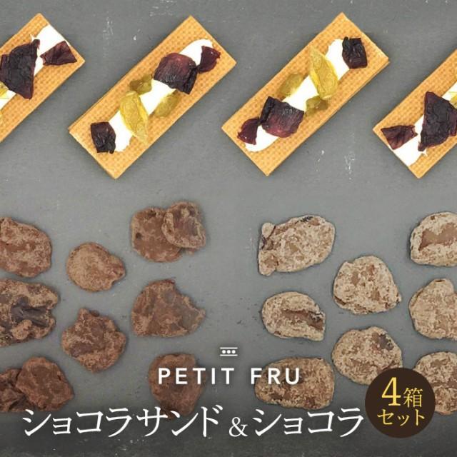 プティフル シャインマスカット&ナガノパープルショコラサンド・ショコラ セット