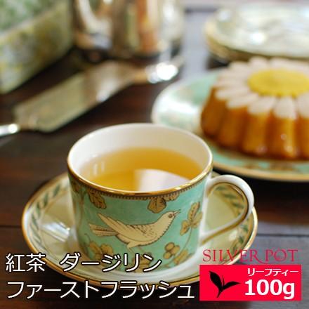 紅茶 お徳用パック ダージリン ファーストフラッシュ 2021年 タルザム茶園 FTGFOP1 FLOWERY CLONAL 100g 送料無料