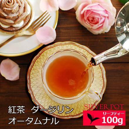 紅茶 ダージリン オータムナル 2019年 シンブリ茶園 FOP GOLD 100g お徳用パック 送料無料