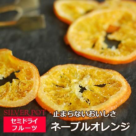 お茶請けに太陽のおいしさを ネーブルオレンジ 90g セミドライフルーツ 1配送1690円以上のお買い上げで送料無料