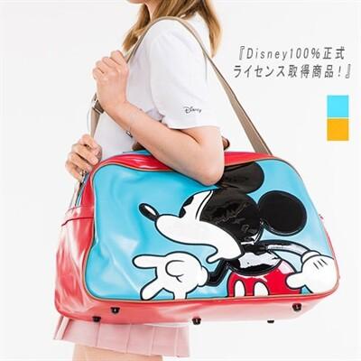 ボストンバッグ ショルダーバッグ トラベルバッグ トートバッグ ディズニー 正規品 Disney ミッキー 旅行 手提げバッグ(mickz002)