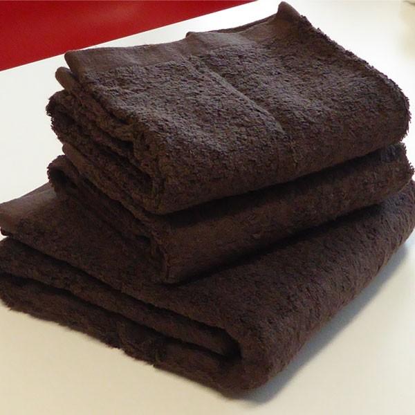 高級スーピマ綿100%を使用したバスタオル! 高級スーピマ綿 極厚バスタオル 60×120cm 4枚セット チョコレート