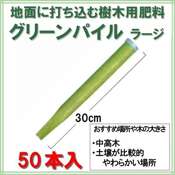 肥料 グリーンパイル ラージ 50本入