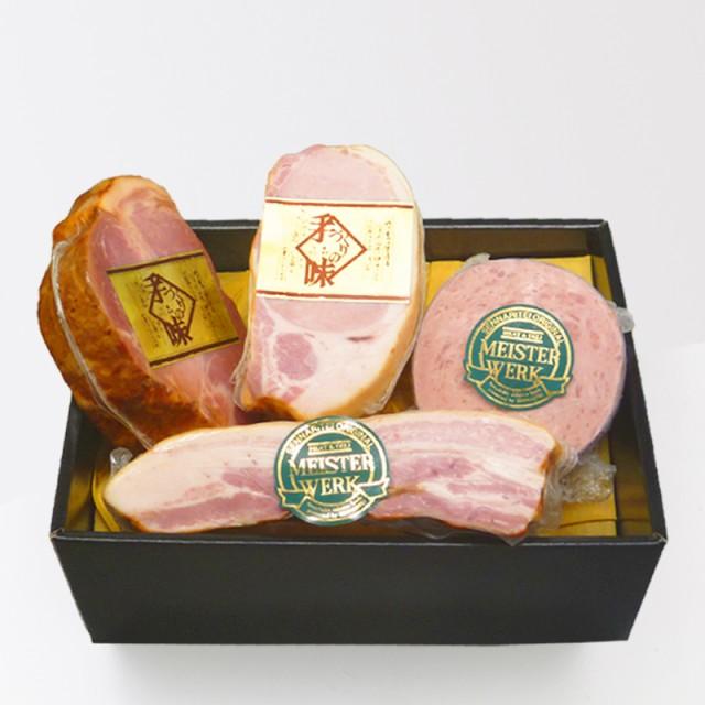 千成亭 ハムセット H-50C 焼豚・ロースハム・ベーコン・ヤークトブルスト お肉ギフト のしOK お中元 ギフト