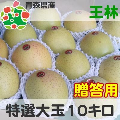 りんご 贈答用 青森県産 王林 特選 大玉 10kg