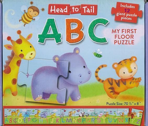 Head to Tail ABC/バーゲンブック{Import17 洋書 児童洋書 児童 子供 こども 英語 えいご