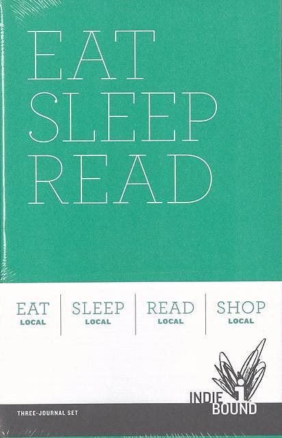 EAT SLEEP READ INDIEBOUND JOURNAL SET/バーゲンブック{ノート3冊セットクロニクルブックス ホーム