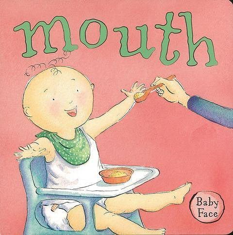 mouth—Baby Face/バーゲンブック{Import21 洋書 児童洋書 児童 子供 こども 英語 えいご