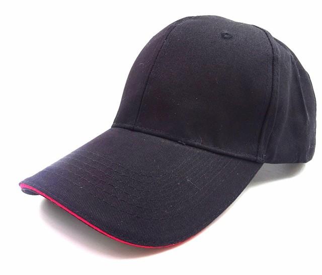 大きいサイズ 野球帽 無地 ビ...