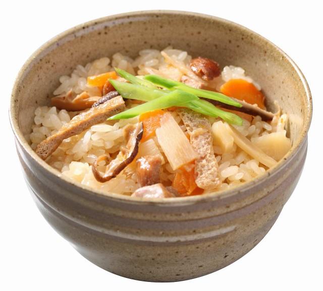 五目おこわ あっさりとした京風味だしの旨みが上品な逸品 2合分 x1袋 大トウ 早炊きもち米と具材セット