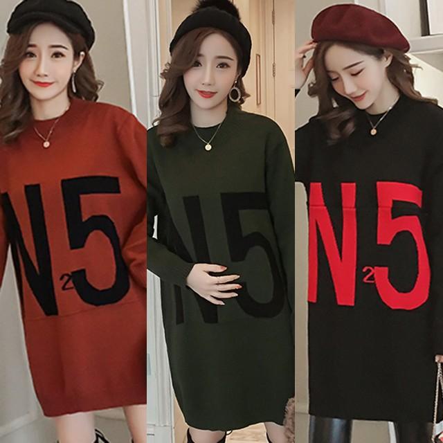トップス 授乳服 産後 長袖 秋 冬 春 ブラウン 緑 黒 大きいサイズ 2XL #3023