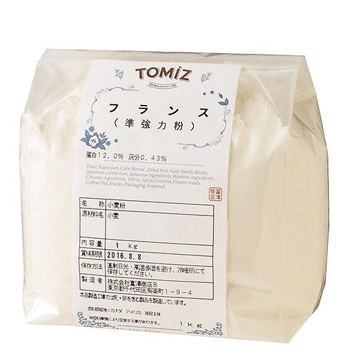 TOMIZ cuoca (富澤商店 クオカ) 小麦粉 準強力粉 フランス/1kg フランスパン用