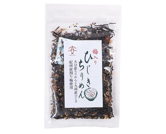 TOMIZ cuoca (富澤商店 クオカ) 梅入りひじきちりめん (九州産ひじき使用) / 40g 和食材(加