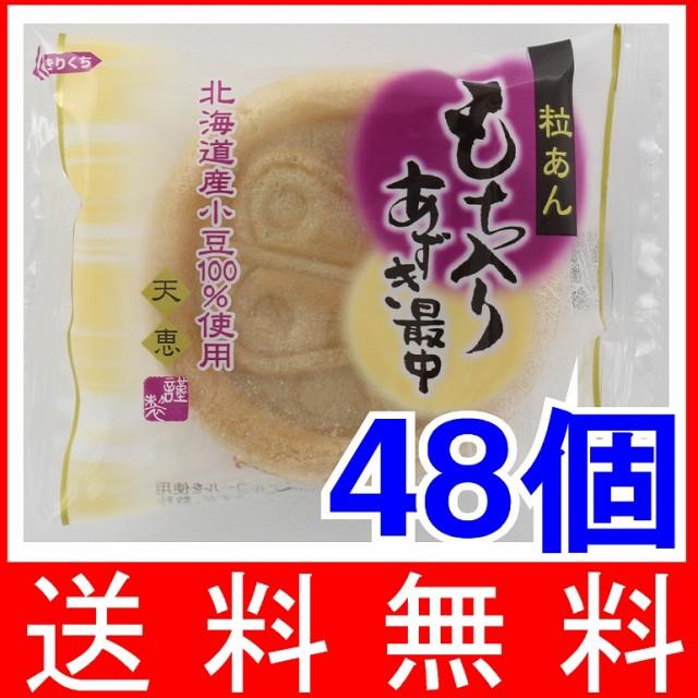 天恵製菓 もち入りあずき最中 1コ×48個 (8×6B)【送料無料】