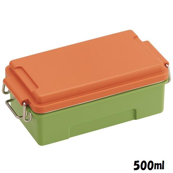 PCTN5/ふわっとコンテナランチBOX[容量500ml]●マルシェカラー にんじん●//お弁当箱ランチボ/スケーター