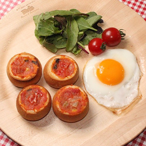 [ ラタトゥイユ ブリオッシュ 6個 ] 総菜 パン 電子 レンジ 温めるだけ 簡単 グルメ