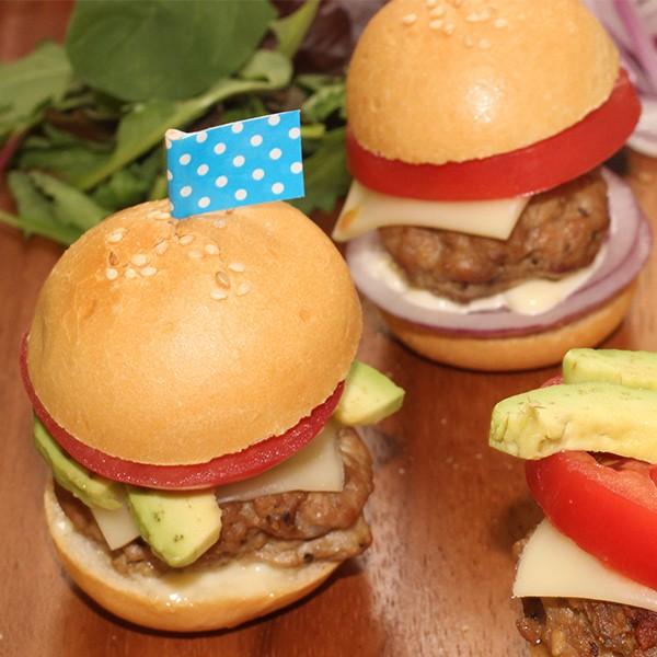ミニバンズ 24個 ハンバーガーバンズ 冷凍 パン インスタ