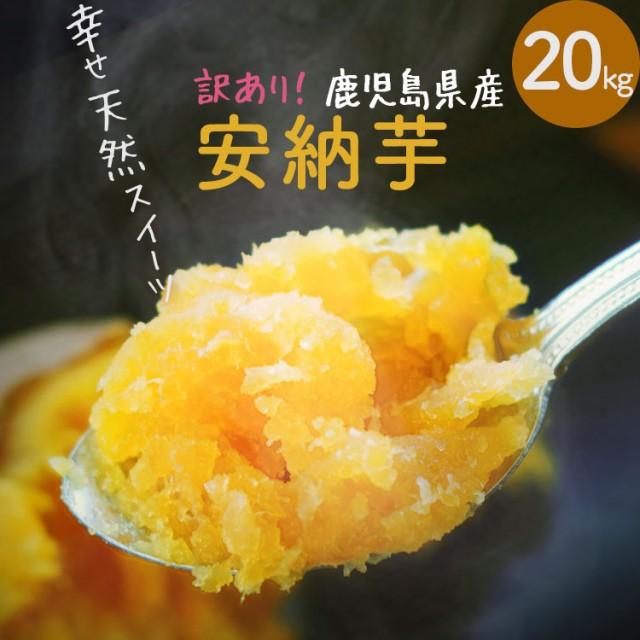 【訳あり】 鹿児島県産 熟成土付きさつまいも 安納芋 20kg 送料無料 しっとり サツマイモ 焼き芋