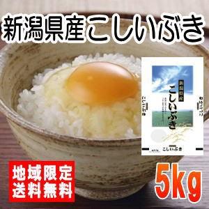 令和2年産新潟県産こしいぶき5kg ※北海道・九州・沖縄は別途送料かかります。米 5キロ 送料無料
