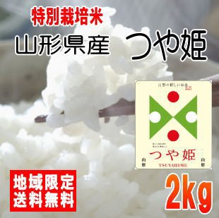 令和2年産山形県産つや姫2kg ※北海道・九州・沖縄は別途送料かかります。米 2キロ 送料無料