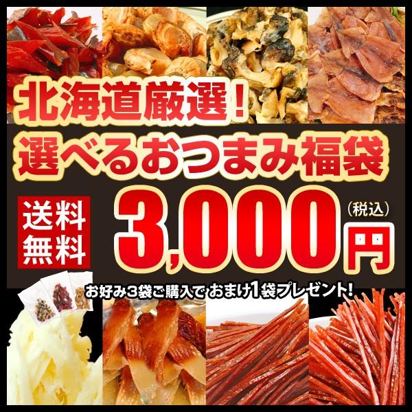 福袋 送料無料 選べるおつまみ おつまみ セット 北海道厳選 珍味