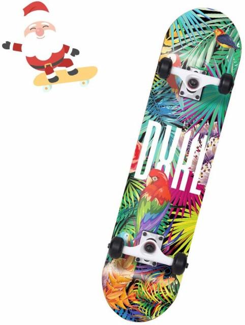 エスボード スケートボード 子供向け ジェイボード スケボー 光るタイヤ 仕様 キックボード 子供用 ギフト 誕生日 プレゼント