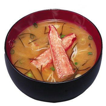アマノフーズ 味噌汁 北海道みそ(かに汁) 1袋 (フリーズドライ みそ汁)