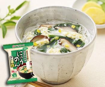 アマノフーズ にゅうめん 無添加 すまし柚子 12袋 (フリーズドライ)