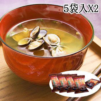 フリーズドライ 味噌汁 島根県宍道湖 赤だし しじみ汁 10食(5袋入X2個)