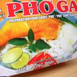 ベトナム、フォーガーの素(4キューブ・75g) X5個セット(業務用にも、ベトナム料理)
