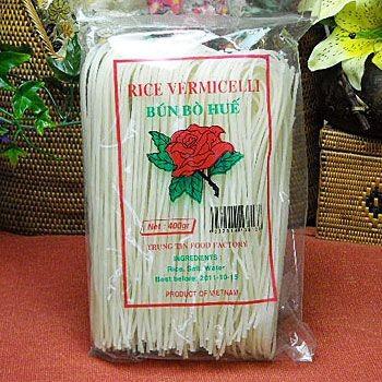 (ベトナムブン) ブン・ボー・フエ400gX10袋(ライスヌードル/グルテンフリーの麺・ベトナム料